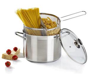 Spaghettiere Barazzoni Doppio Cestello